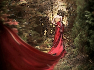 Mysterious-Lady-in-Red