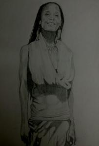 Drawing of Me (Ria) by Genesis Factor